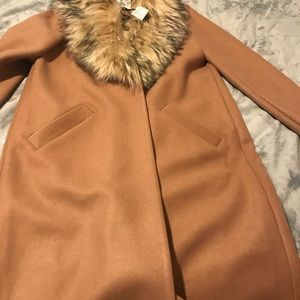 River Island brand new camel coat